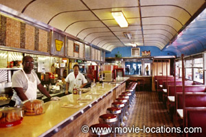 After Hours Filming Location River Diner New York
