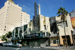 Pantages Theatre, Hollywood Boulevard