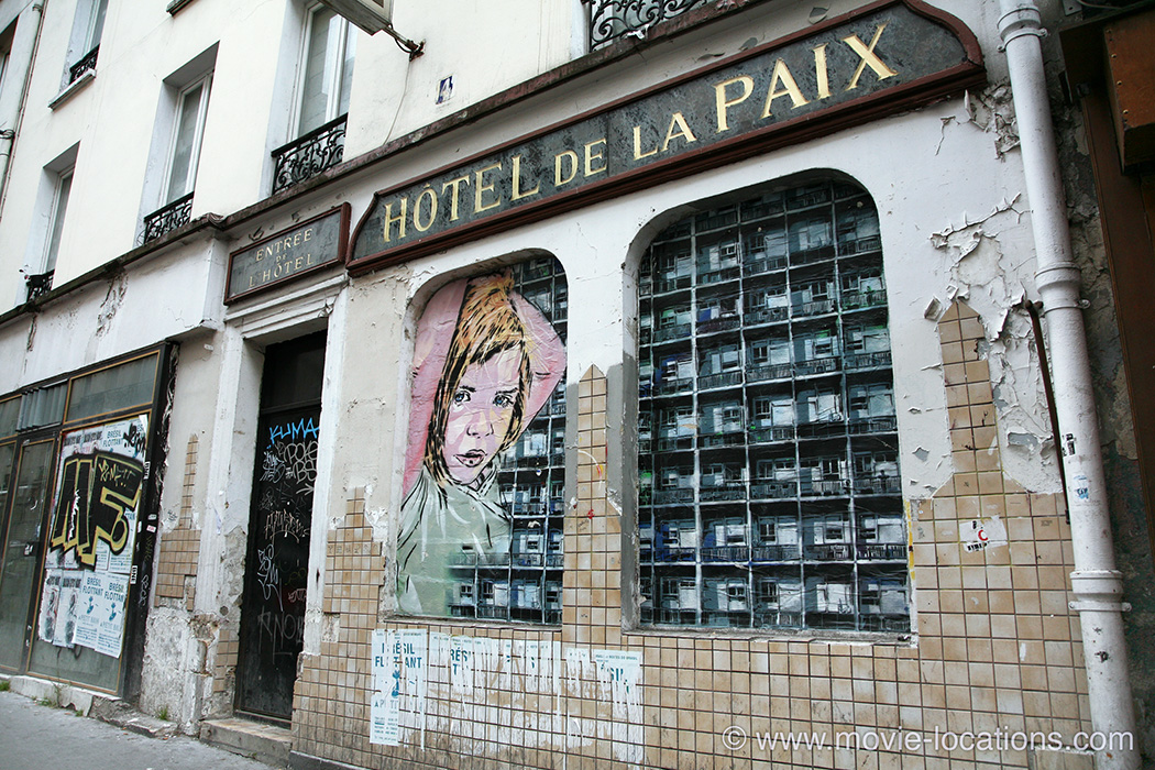 The Bourne Ideny Filming Location Hotel De La Paix Rue Louis Bonnet Belleville