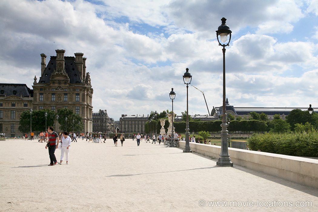 The Bourne Ideny Filming Location Jardin Des Tuileries Paris