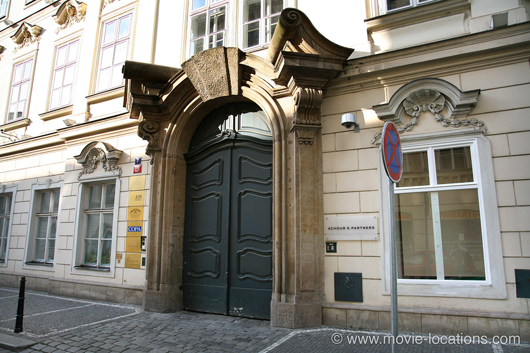 The Bourne Ideny Filming Location Panska Prague