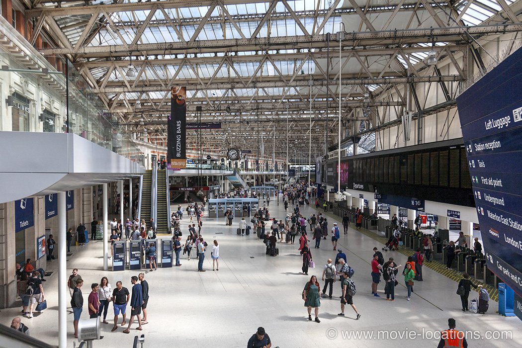 The Bourne Ultimatum Filming Location Waterloo Station London Se1