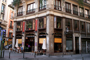 The Bourne Ultimatum Filming Location Cafe Del Principe Plaza De Cejas Madrid