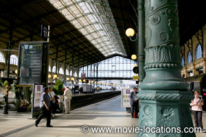 The Bourne Ideny Filming Location Gare Du Nord Paris