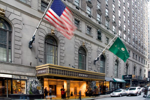 The French Connection location: The Roosevelt Hotel, 45 East 45th Street, midtown New York