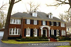 Home Alone location: 671 Lincoln Avenue, Winnetka, Illinois