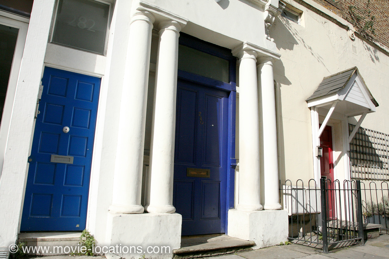 The Blue Door, Notting Hill, London