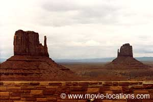 Back to the Future Part III fliming location: Monument Valley, Arizona