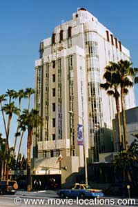 Sunset Tower Hotel Boulevard West Hollywood Los Film Locations For Strange Days 1995