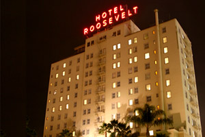 Hollywood Roosevelt Hotel Boulevard
