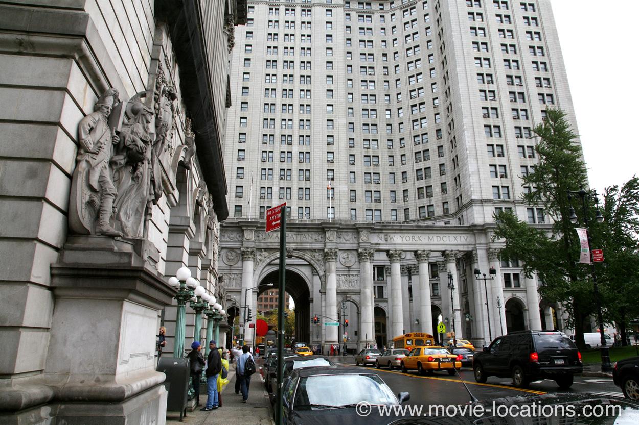 Batman Forever Filming Location Surrogate S Court Chambers Street At Center Lower Manhattan