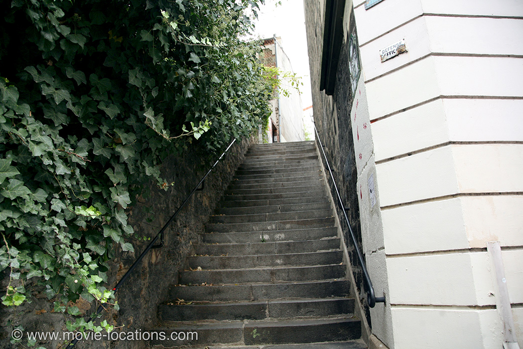 The Bourne Ideny Filming Location Passage Plantin Paris