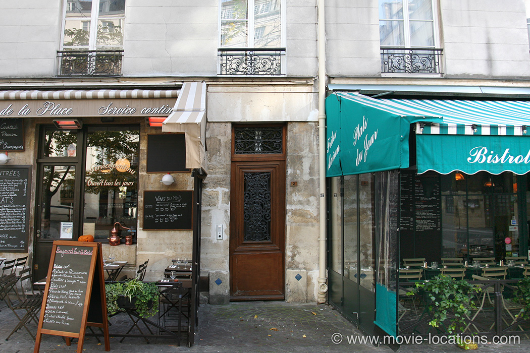 The Bourne Ideny Filming Location 2 Place Du Marche St Catherine Paris