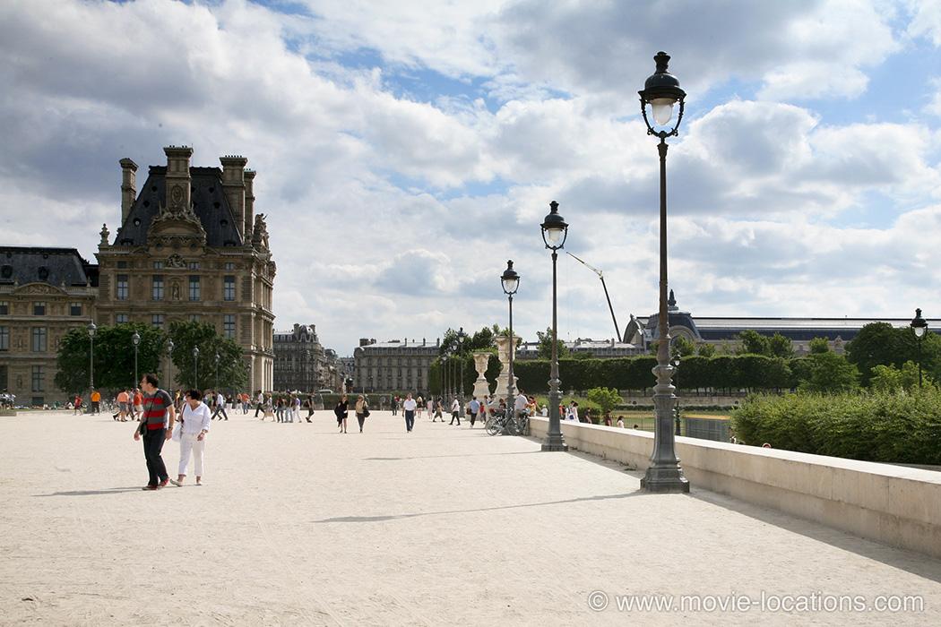 The Bourne Ideny Filming Location Jardin Des Tuileries Paris