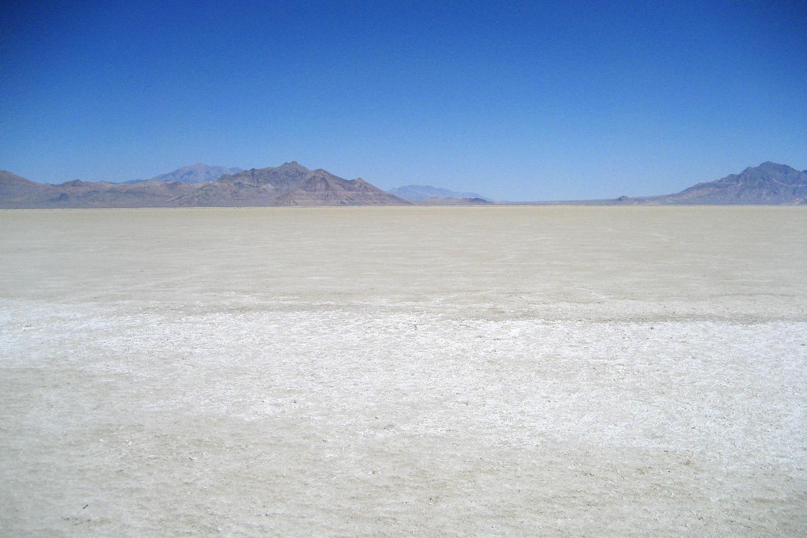 Great Salt Lake Desert IN Bonneville Stock Photos