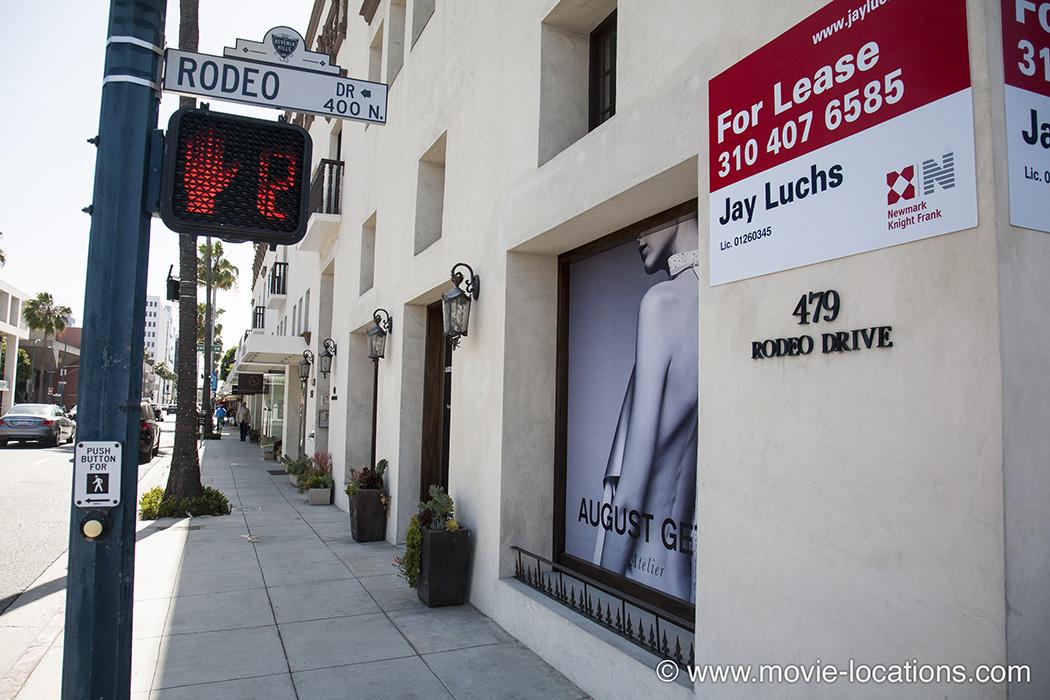 Pretty Woman Location Boulmiche Boutique 9501 Santa Monica Boulevard Beverly Hills Los