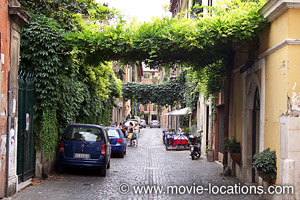 Roman Holiday Location Via Margutta Rome