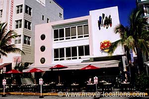 Scarface Film Location Johnny Rocket S 728 Ocean Drive Miami Beach Florida