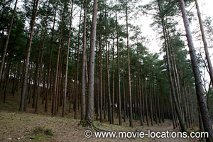 Film Locations For The Wolfman 2010